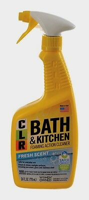 *NEW* CLR Kitchen & Bathroom Cleaner 26 oz. Removes Calcium Lime Deposit BK-2000