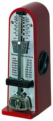 Wittner Taktell Piccolino Metronome - Pocket Size -  Ruby Red