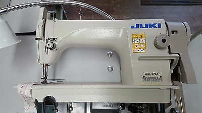New Juki DDL-8700 Industrial Single Needle Lockstitch Sewing Machine - Head Only