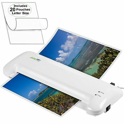 "Document Photo 13"" Scotch Thermal Laminator 2 Roller System Laminating Machine"