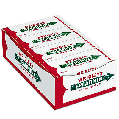 "8 x Wrigley´s ""Spearmint"" (8 Packs x 15 Stripes = 120 Stripes) *FREE SHIPPING*"