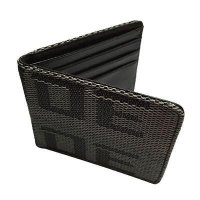 Car Racing Bride Wallet Credit and Business cards Holder Pocket Black Gray