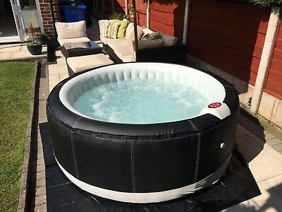 2017 Brand New Inflatable Hot Tub, Spa, 4 Person, Premium Deluxe, Jacuzzi