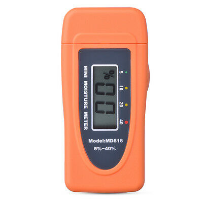 Mini Digital Moisture Meter Wood Firewood Humidity Detector Sensor Tester BI683