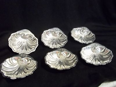Sterling Silver Shell design Nut Server monogramed 3x3x1 inches buy 1 or all 6