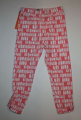 New Gymboree Pink with White Geometric Print Leggings 6 NWT Desert Dreams Girls