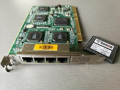 QUAD PORT GIGABIT PCI-X NIC for Routers and Firewall pfSense m0n0wall  Untangle