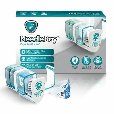 Needle Bay / Needlebay 4 Bays | Safe & Easy Insulin Delivery | DCT |  New Boxed