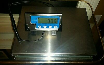 150 LB X 0.05 LB Salter Brecknell LPS 150 Portable Shipping Scale used