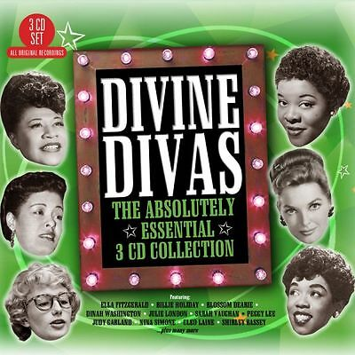 Divine Divas: Absolutely Essential Collection VARIOUS ARTISTS Best Of NEW 3 CD
