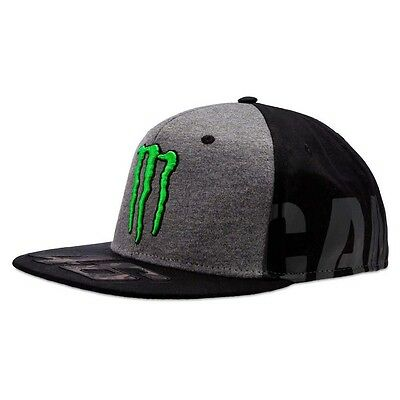 Valentino Rossi Cap Adj Monster Rossi One Size Black Gorras y gorros