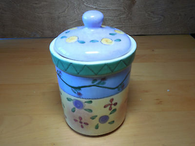 Sango SWEET SHOPPE Tea Canister & Lid rubber sealed