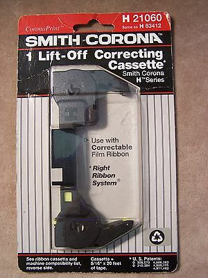 """Smith-Corona Lift-off Correcting Cassette for """"H"""" series Machines. NISB"""