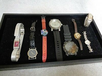 Untested Men's & Women's Watches Junk Drawer Watch Lot