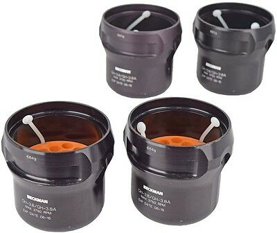 Lot of 4 Beckman Coulter GH-3.8/GH-3.8A 3750 Max RPM Centrifuge Buckets