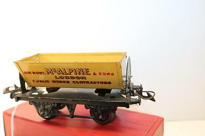 Hornby O Gauge No1 Side Tipping Wagon  In Box [  Ks23 ]
