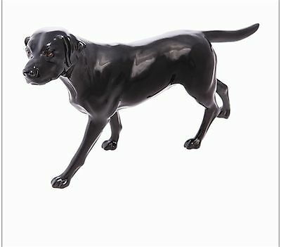 Labrador Walking Dog Figurine-John Beswick Connoisseur Collection - Black