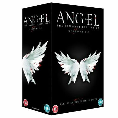 Angel - The Complete Collection-Seasons 1 - 5 (Series) DVD Box Set- NEW & SEALED