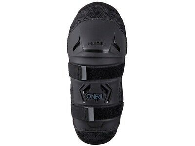 Oneal Peewee Knee Guard Black / Black/hi Viz