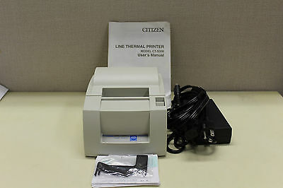 Citizen CT-S300 POS Printer  Thermal  USB Interface New in Box with Power Supply