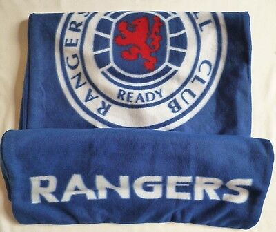 Glasgow Rangers Football Fleece Sleeping Bag NEW