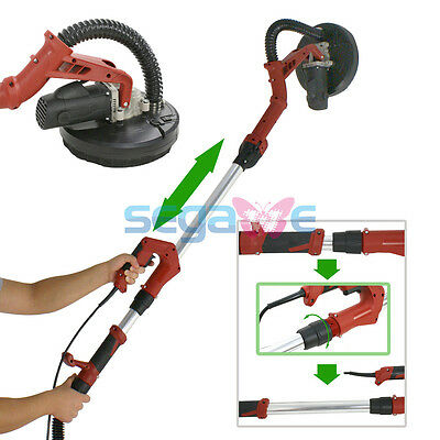NEW High Efficiency 710W Long Reach Drywall Sander Electric Adjustable 13ft Tube