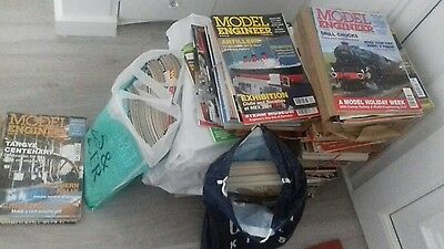 model engineer magazines huge pile all from the 90's in complete volumes