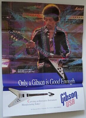 Gibson Hendrix Pull out and Designer catalogue