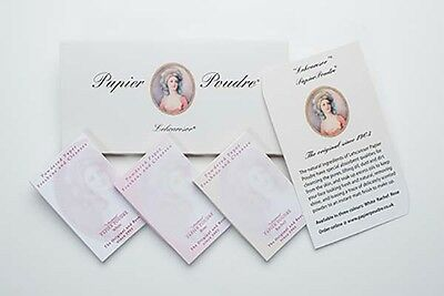 Papier Poudre Wallet containing three booklets.  Rachel, Rose, White or mixed