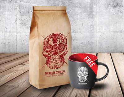 Adore Coffee Killer Coffee + FREE Killer Mug The Killer Coffee Co.