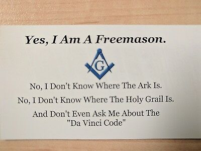 Freemason Magnet Masonic, Fraternal Great Gift For Dad or Grandpa or Brother!