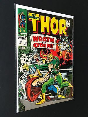 The Mighty Thor #147 *origin Of The Inhumans* Marvel 1967 Fn+ 6.5