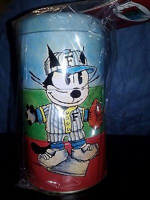 FELIX THE CAT Twisting Tins, New Old Stock, Sealed in Original Package, NRFMP