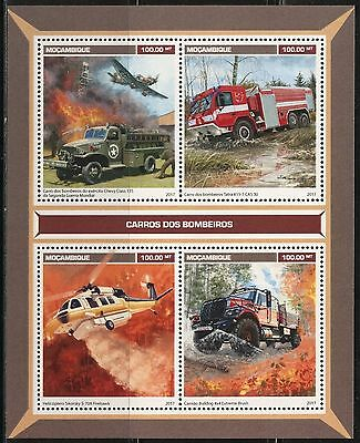 Mozambique 2017  Fie Trucks Sheet  Mint Nh