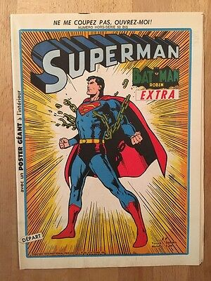 SUPERMAN EXTRA - Sagédition - 1973 - NEUF