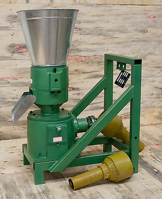 "8"" PTO Powered Pellet Mill w/support. Make feed or fuel pellets. USA In-stock"