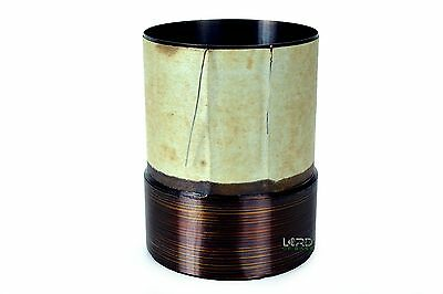 "3"" DUAL 4 Ohm Voice Coil 4 Layer Subwoofer Speaker Parts  080149"