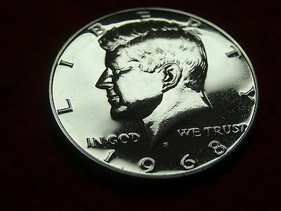 1968-S Kennedy Proof 40% Silver Half Dollar    #49R