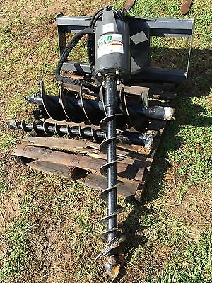 '15 Heavy Duty CID Extreme Auger with Bits, Skid Steer, Tractor