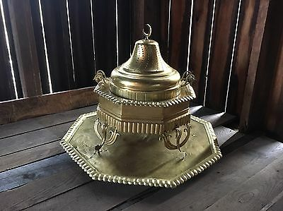 Antique Turkish Brass Brazier