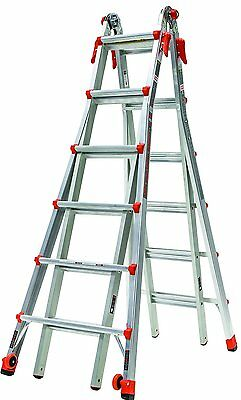 26 1A Velocity Little Giant Ladder 15426-001 300lb rating w/wheels NEW