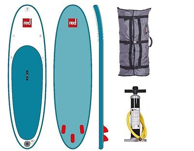 Red Paddle Co ISUP Set 10.6' incl. Paddle Family board TenSix Surfer RedAir SUP