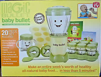 *Brand New* Magic Bullet Baby Bullet Baby Care System