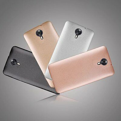 Synthetic fiber Carbon Fiber Slim Cover Case For General Mobile 4G Android one
