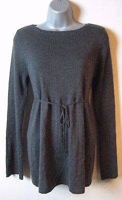 OLD NAVY MATERNITY Womens Dark Gray Knit Sweater Top Size XL