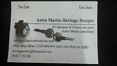 Aston Martin Classic AMV8/DBS/DBSV8 replacement cubbybox lock