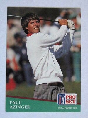 Pro Set 1991 Pga Tour Golf Card # 86. Paul Azinger