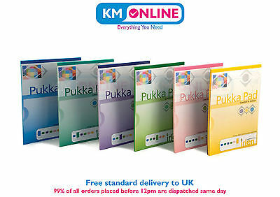 Pukka Pad Irlen A4 Comfort Coloured Ruled & Margin Pad Book 100 Pages 80GSM New