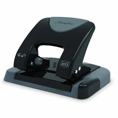 Swingline SmartTouch 2-Hole Punch, Reduced Effort, 20 Sheet Capacity (A7074135)
