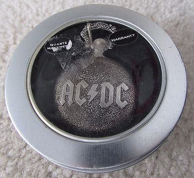 AC/DC Back in Black Official Licensed Pocket Watch NEW in Package